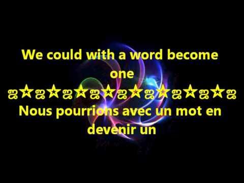 Mylène Farmer et Seal ~ Les mots {paroles et traduction}