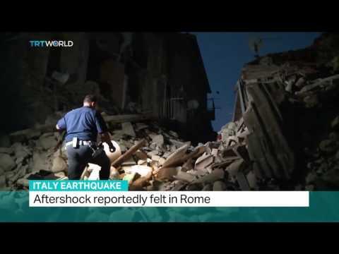 Italy Earthquake: USGS Geophysicist Rafael Abreu weighs in