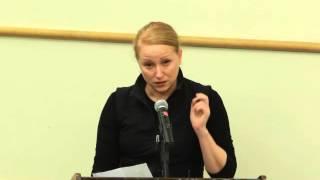 Jenna Stern at Draft SEIS hearing