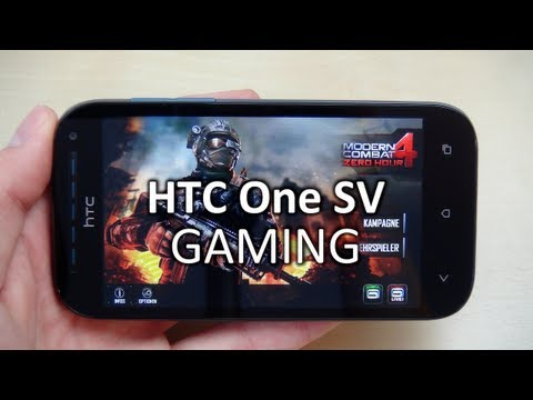 HTC One SV: Gaming & Spiele