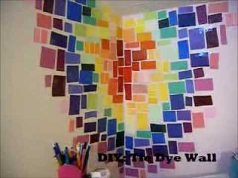 Charmant DIY: Tie Dye Wall Decoration!   YouTube