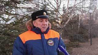 Выход на лед категорически запрещен в Приморье