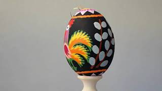 Gambar cover Polish Hand Decorated Easter Eggs Video Review