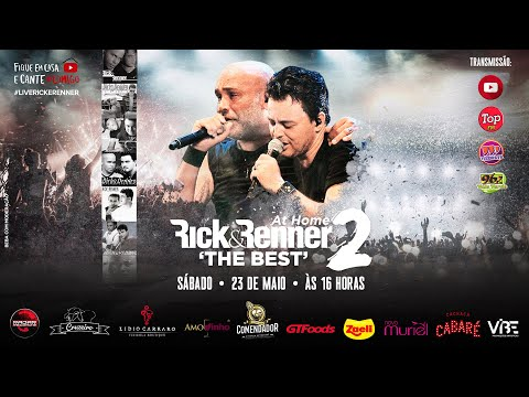 """Rick & Renner - At Home 2 """"The Best"""" - Ao Vivo (Live)"""