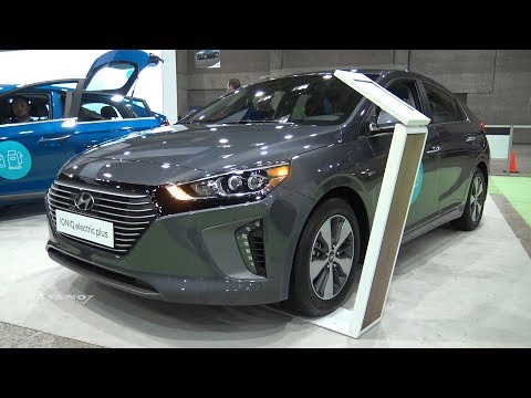 2018 Hyundai Ioniq Electric Plus - Exterior And Interior Walkaround - 2018 Montreal EV Show