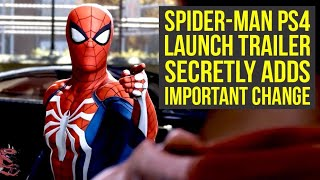 Spider Man PS4 Trailer SECRETLY ADDS Important Change, New Open World Info & More! (Spiderman PS4)