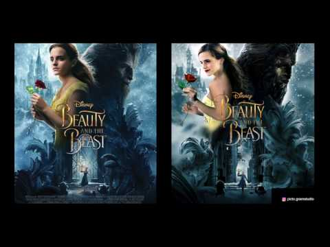 ReCreating Movie Poster - Beauty and the Beast (with Google Only)
