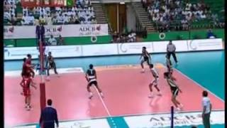 Pakistan vs uae volleyball match 2011