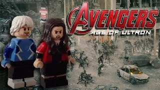 Custom LEGO Avengers: Age Of Ultron - Scarlet Witch and Quicksilver