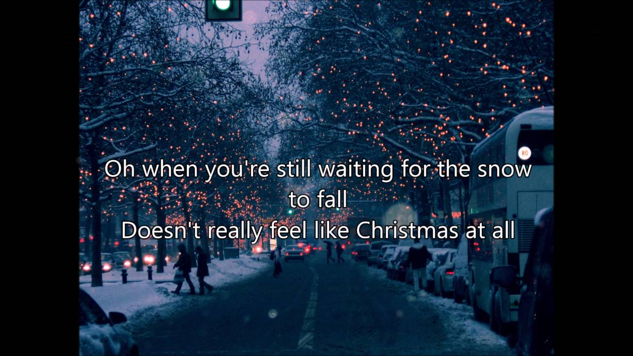 Coldplay - Christmas Lights Lyrics - YouTube