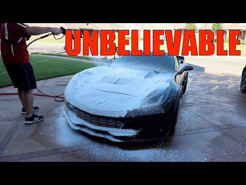 What This Foam Did To My Z06