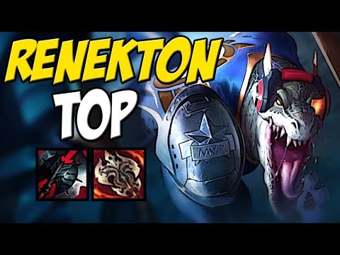 REI DO TOP SOLANDO GERAL - SKT RENEKTON TOP GAMEPLAY - LEAGUE OF LEGENDS thumbnail