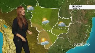 Previsão Centro-Oeste - Mais chuva nesta quarta