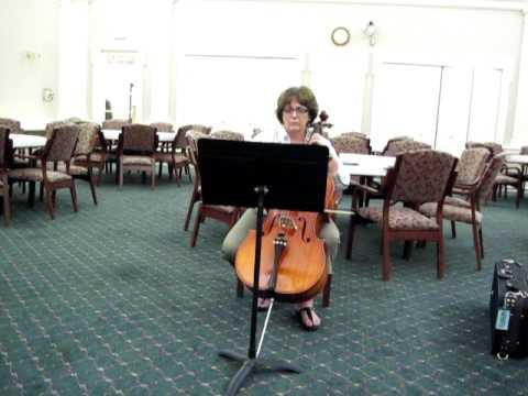 Sahara Crossing cello part