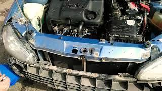 Как проще заменить фару на автомобиле Lada Kalina