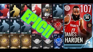Super Epic VARIETY pack opening PART 2 in Nba Live Mobile!!