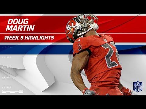 Doug Martin's Big Return Vs. New England | Patriots Vs. Buccaneers | Wk 5 Player Highlights