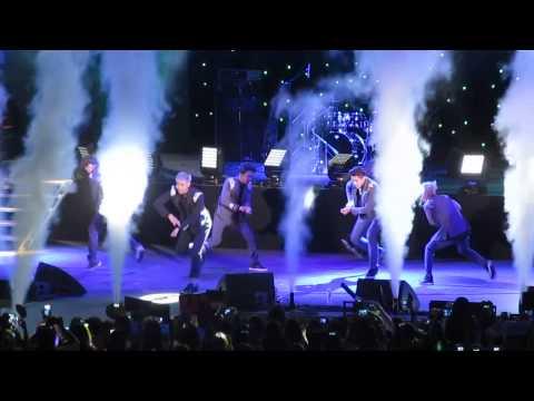 140503 EXO M Overdose Korea Times Music Festival LA [fancam] HD