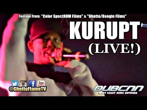 "Kurupt ""Young Gotti"" (LIVE) Ft. Daz Dillinger, Scoe, Weazel Loc & DPG | @GhettoFlameTV"