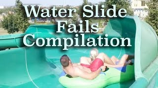 Funny Water Slide Fails | Funny Compilation | MOST HILARIOUS Water Slide Fails | Funny Vines