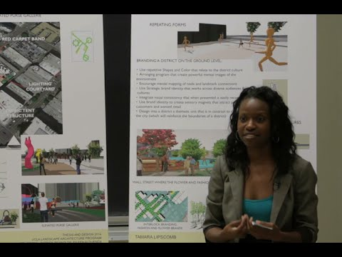 """District Branding"" by Tamara Lipscomb, UCLA Extension Landscape Architecture Thesis"