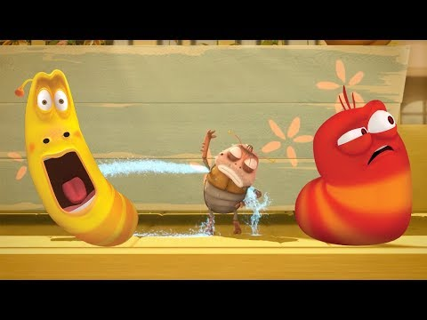 LARVA - ARMPIT SPRINKLER | Cartoon Movie | Cartoons For Children