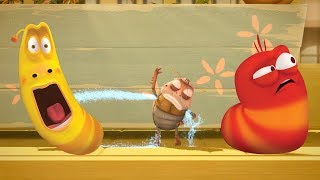 LARVA - ARMPIT SPRINKLER | Cartoon Movie | Cartoons For Children | Larva Cartoon | LARVA Official