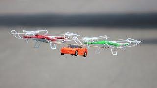 How To Make a Drone Car - Quadcopter Car - CAR