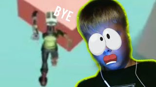 Roblox - crazy obby, I keep dying