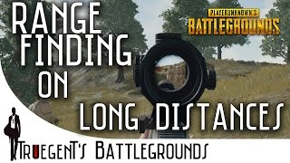 PUBG - How to aim mid and long range