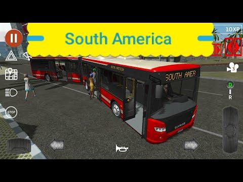 Public Transport Simulator: New Map South America Update v1.30