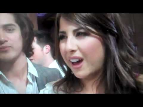 Daniella Monet Avan Jogia Matt Bennett Leon Thomas At Teen Wolf Premiere Youtube