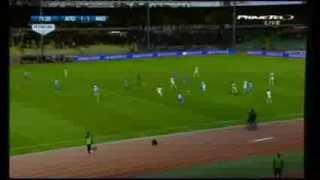 Apollon 1-1 Anorthosis Moshe Ohayon Amazing Goal(4/1/2014)