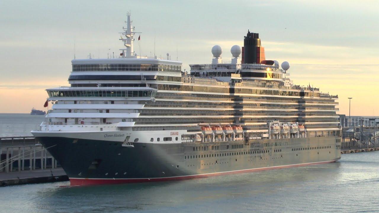 Cunard Queen Elizabeth The Movie HD P YouTube - Cruise ship movie