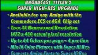 Amiga Broadcast Titler 2 Demo