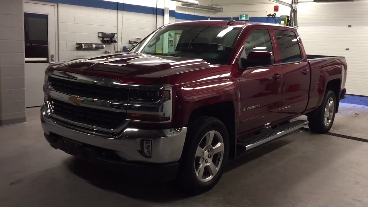 2017 chevrolet silverado 1500 4wd crew cab lt siren red tintcoat roy nichols motors courtice on. Black Bedroom Furniture Sets. Home Design Ideas