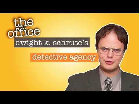Dwight K. Schrutes Detective Agency  - The Office US