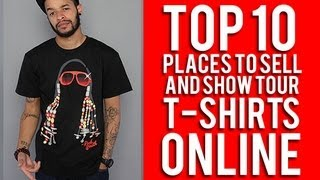 Top 10 places to sell T shirts online