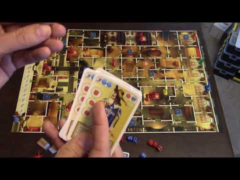 Matt's Boardgame Review Episode 320: The Three Musketeers: The Queen's Pendant