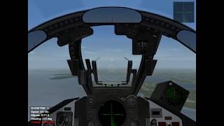 Wings Over Vietnam: F-4 vs Mig-17 duel