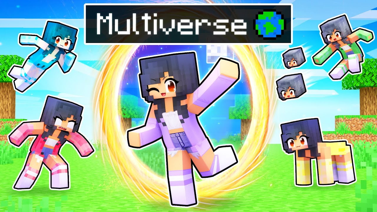The MULTIVERSE of APHMAUS in Minecraft!