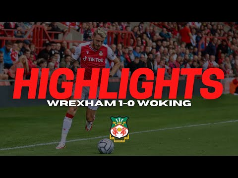 Wrexham Woking Goals And Highlights