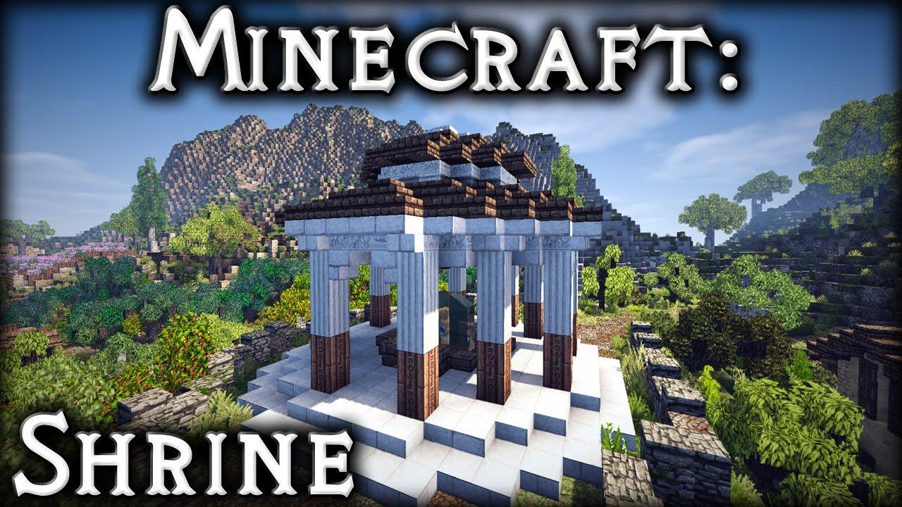 Minecraft: Roman Shrine Tutorial
