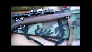 Shooting Winchester Model 67 Rifle