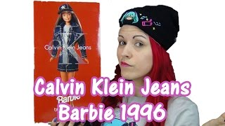 Bloomingdale's Calvin Klein Jeans Barbie Vintage 1996 Doll Review