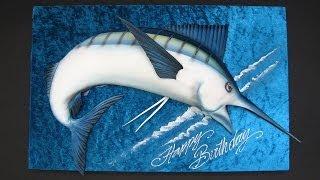 3D Swordfish Cake Tutorial - Sample