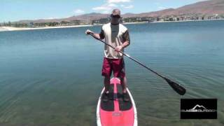 Stand-Up Paddle Boarding Tutorial: Paddle Stroke