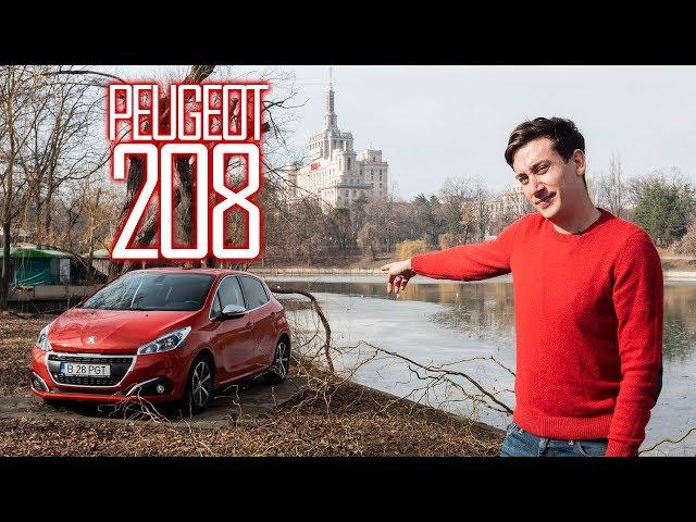 Peugeot 208 prin Micul Paris - Cavaleria.ro