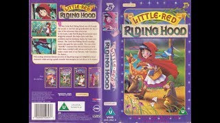 The Little Red Riding Hood 1997 UK VHS