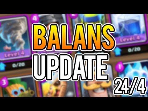 NOVI BALANS DOLAZI 24.4 · Clash Royale